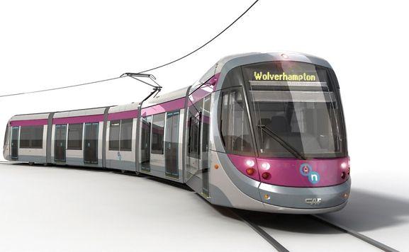 A Birmingham, le tramway a également été réalisé par le constructeur espagnol CAF (Construcciones y auxiliar de ferrocarriles).