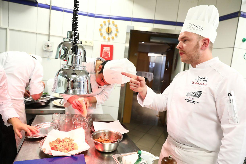 Présentation du concept gastronomique du pavillon luxembourgeois