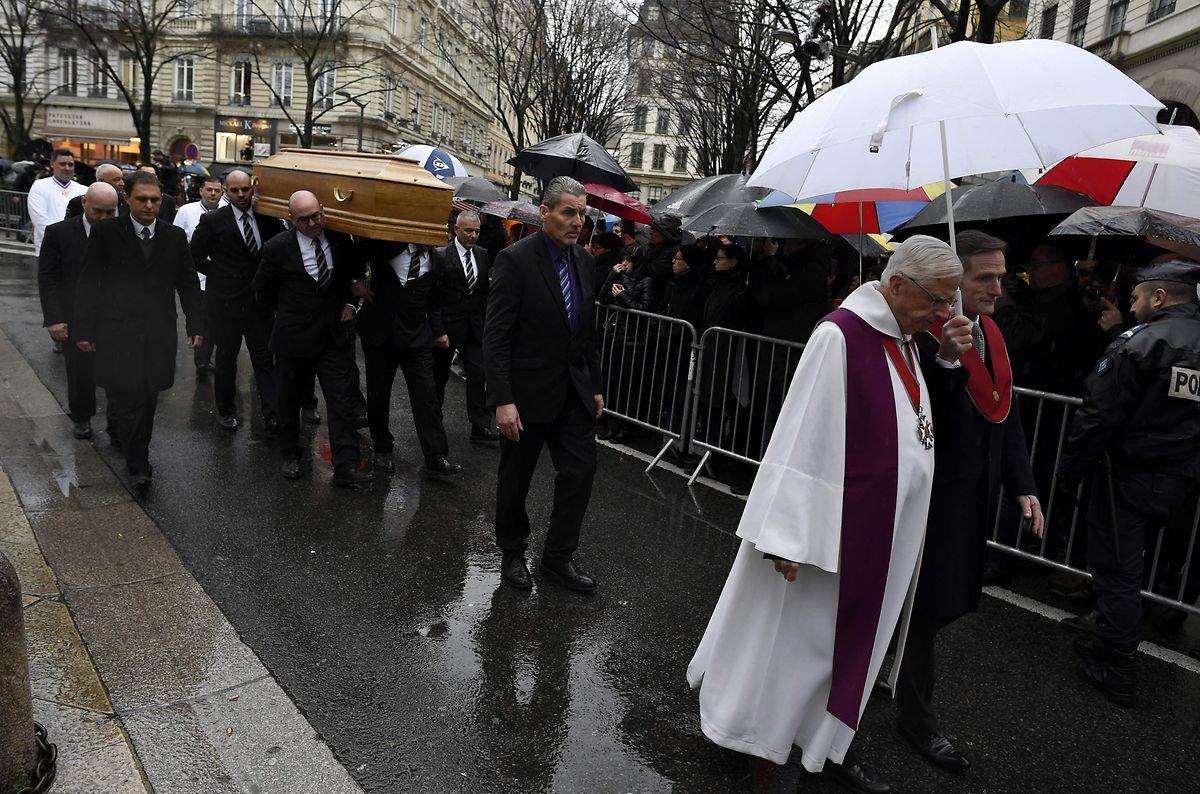 Paul Bocuse: Trauerfeier in Schwarz-Weiß