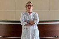 Le Dr Thérèse Staub est le médecin chef de service du service des Maladies infectieuses. Luxembourg le 27/04/2021 photo ©Christophe Olinger