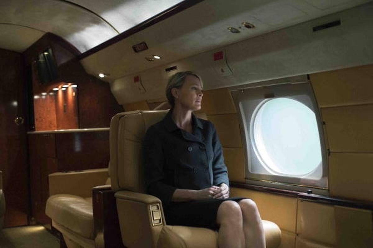 Die schöne, aber eiskalte First Lady (Robin Wright).