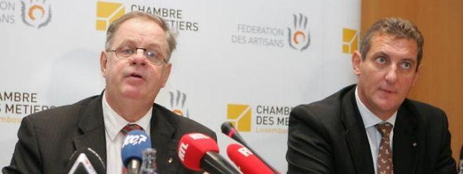 Norbert Geisen und Romain Schmit (r.)