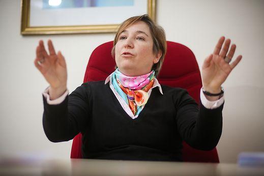Tous les jours face à des salariés, Karine Maurer a été en première ligne lorsque le phénomène est apparu