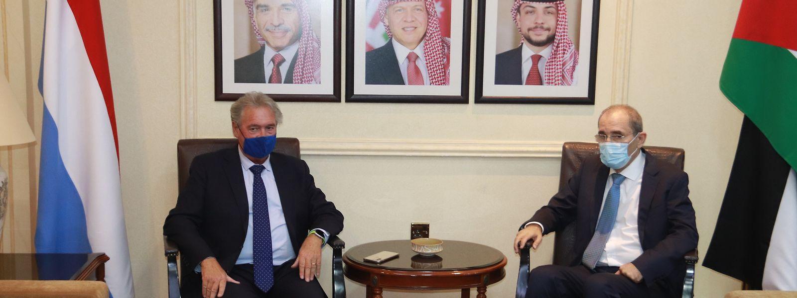Außenminister Jean Asselborn traf sich am Donnerstag mit seinem jordanischen Amtskollegen Ayman Safadi.