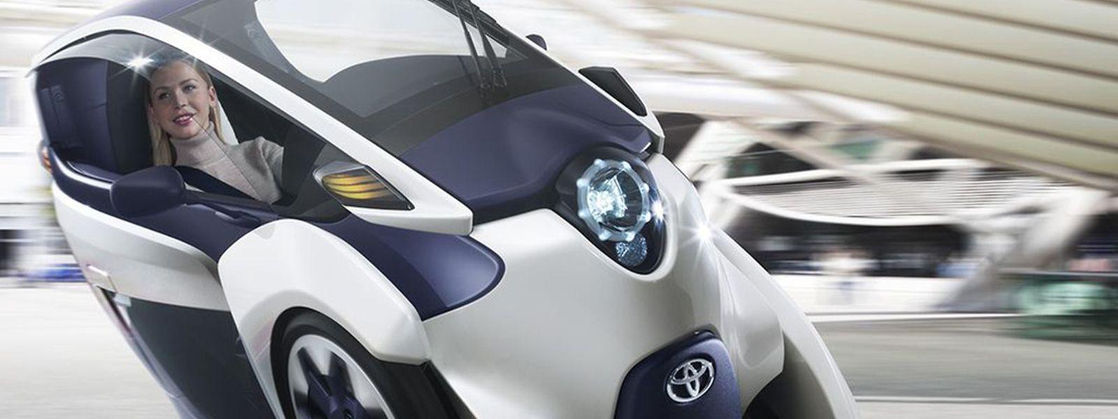 Auf dem Genfer Salon 2013 vorgestellt, ab Oktober im öffentlichen Verkehr unterwegs: Im Rahmen eines Carsharing-Angebots kann in der französischen Stadt Grenoble bald der Toyota i-Road genutzt werden.