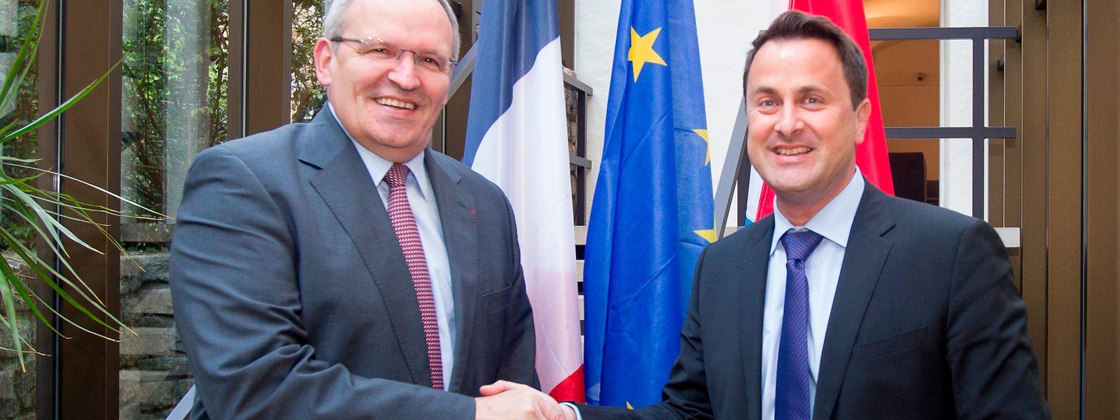 Le président du département de la Moselle, Patrick Weiten, souhaite aussi embrayer sur la proposition de Xavier Bettel d'ouvrir un centre de formation pour personnels infirmiers.