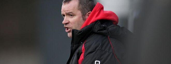Patrick Leogrande regrette les occasions manquées par ses joueurs contre Erpeldange.