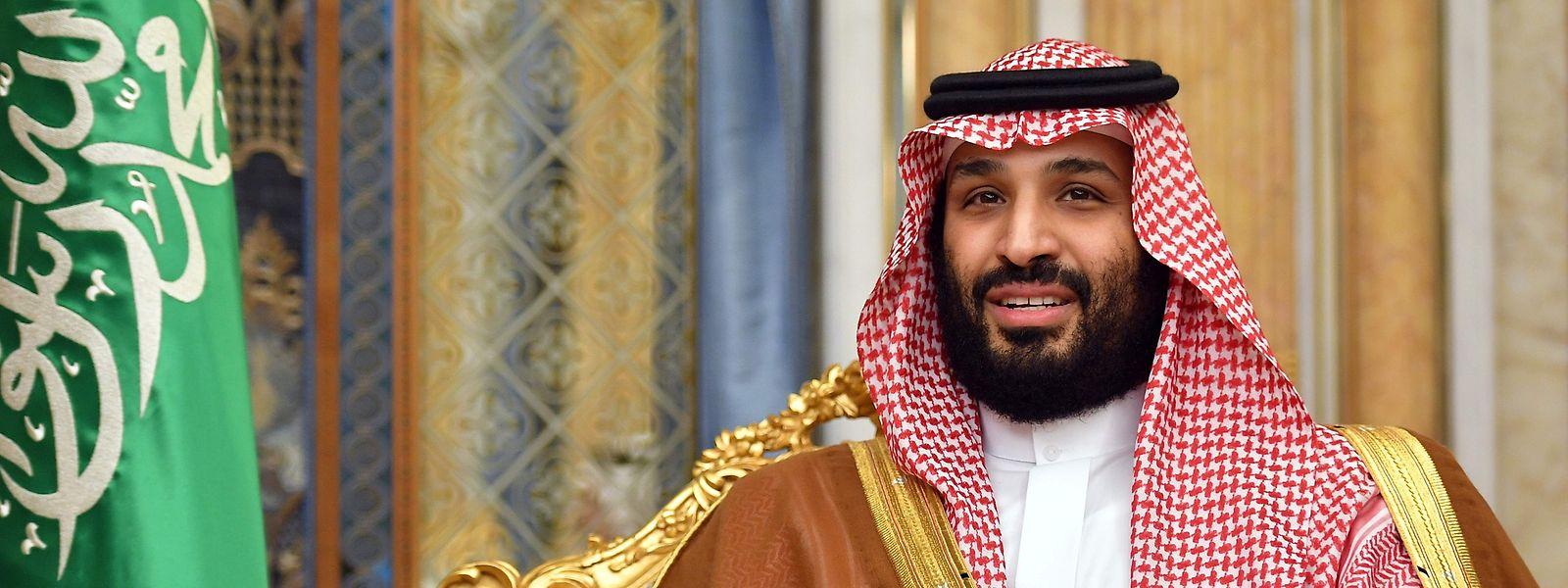 Im Zentrum der Macht: Kronprinz Mohammed bin Salman.