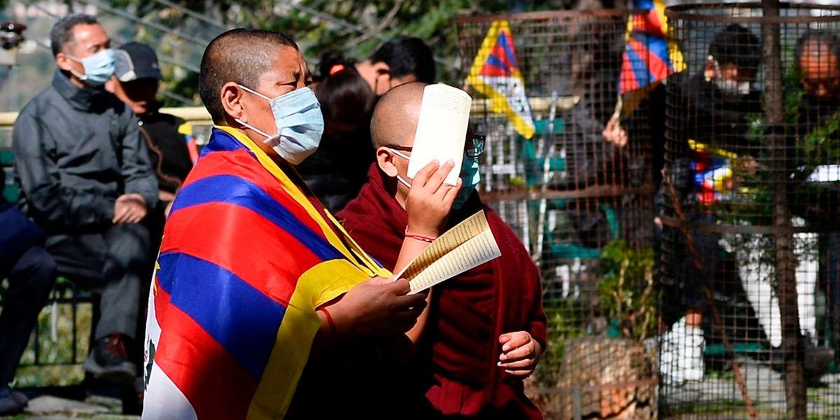 Les Tibétains en exil se concentrent essentiellement en Inde et au Népal.