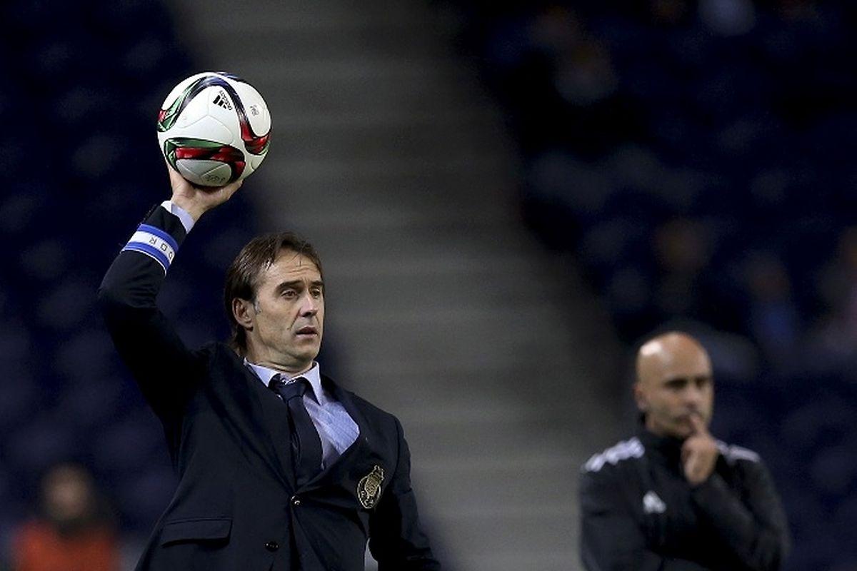 Julen Lopetegui, treinador do FC Porto, está em maus lençóis