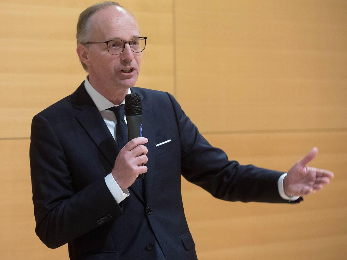 Luc Frieden ist seit April Präsident der Handelskammer.