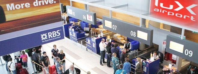 2,69 Millionen Reisende wurden im vergangenen Jahr am Findel gezählt. Dieses Jahr sollen es 2,85 Millionen werden.