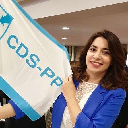 Melissa da Silva, candidata do CDS ao círculo da Europa