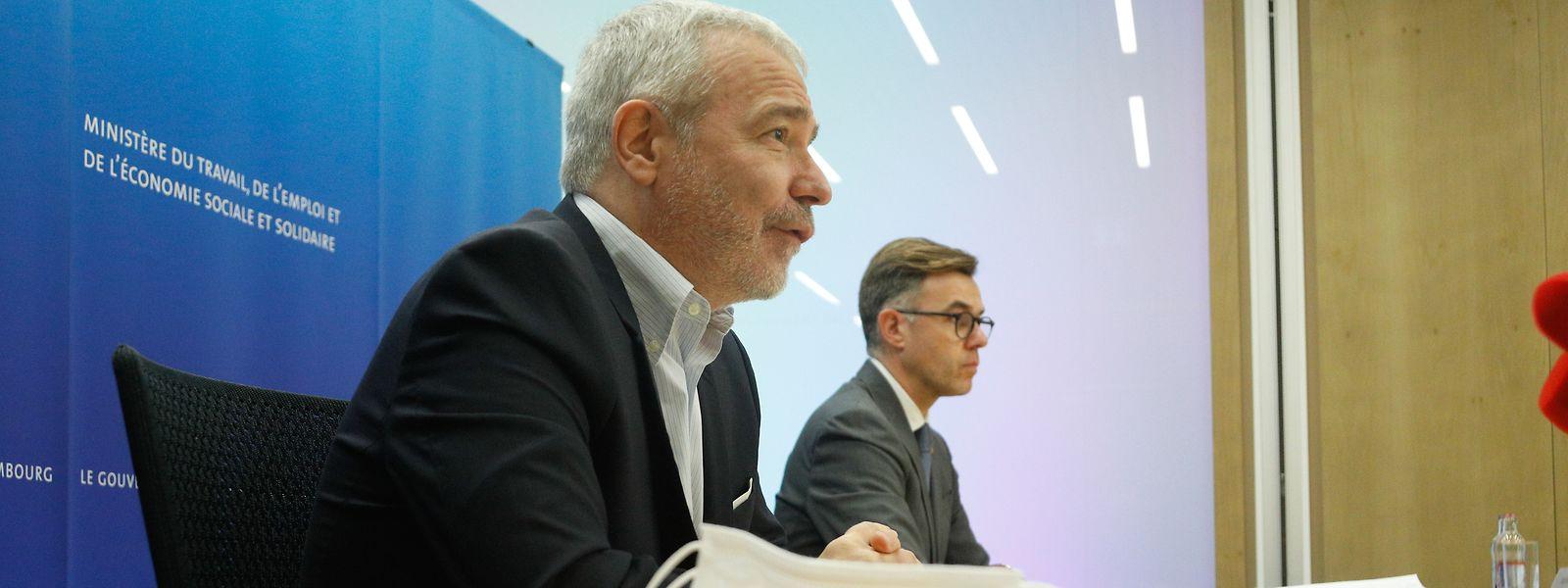 Jeudi, les deux ministres socialistes Dan Kersch et Franz Fayot ont assuré l'usine d'aluminium qu'elle bénéficierait du soutien gouvernemental.