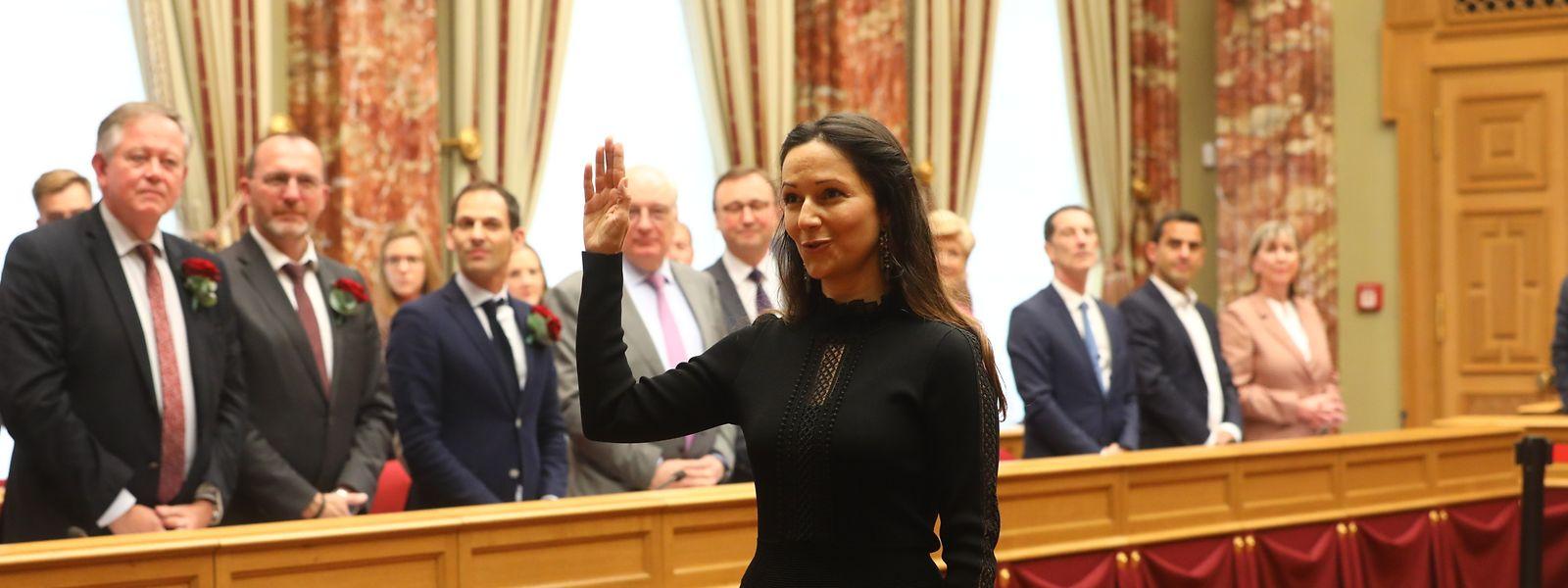 La nouvelle députée Déi Gréng a prêté serment ce mardi après-midi.