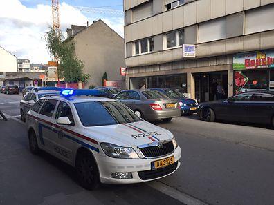La police a arrêté les suspects rue de Strasbourg.