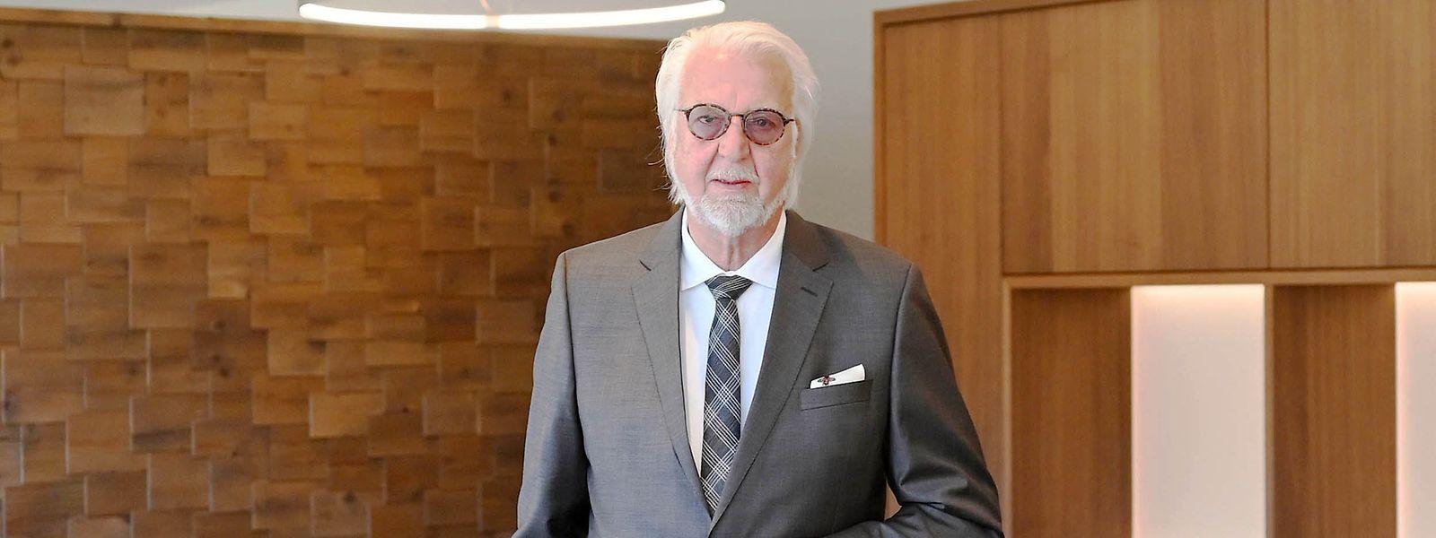 Heiner Finkbeiner, Seniorchef des Hotel Traube Tonbach.
