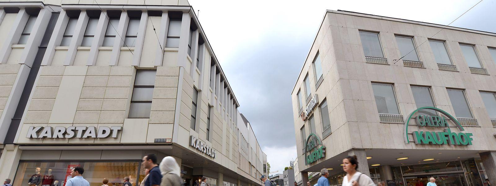 Karstadt und Kaufhof standen sich in Trier schon immer nah.