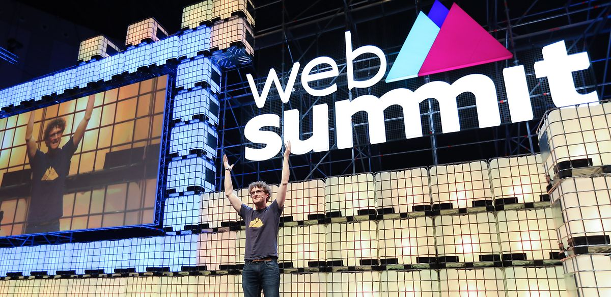 Paddy Cosgrave, fundador da Web Summit.
