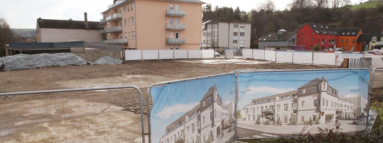 Im Erdgeschoss des neuen Wohnungsbauprojektes anstelle des ehemaligen Café Kaell in Warken hat die Gemeinde Ettelbrück ein Geschäftslokal erworben.