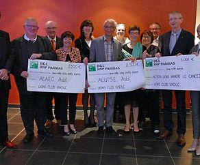 Lions - Club Viaduc unterstützt drei Hilfswerke