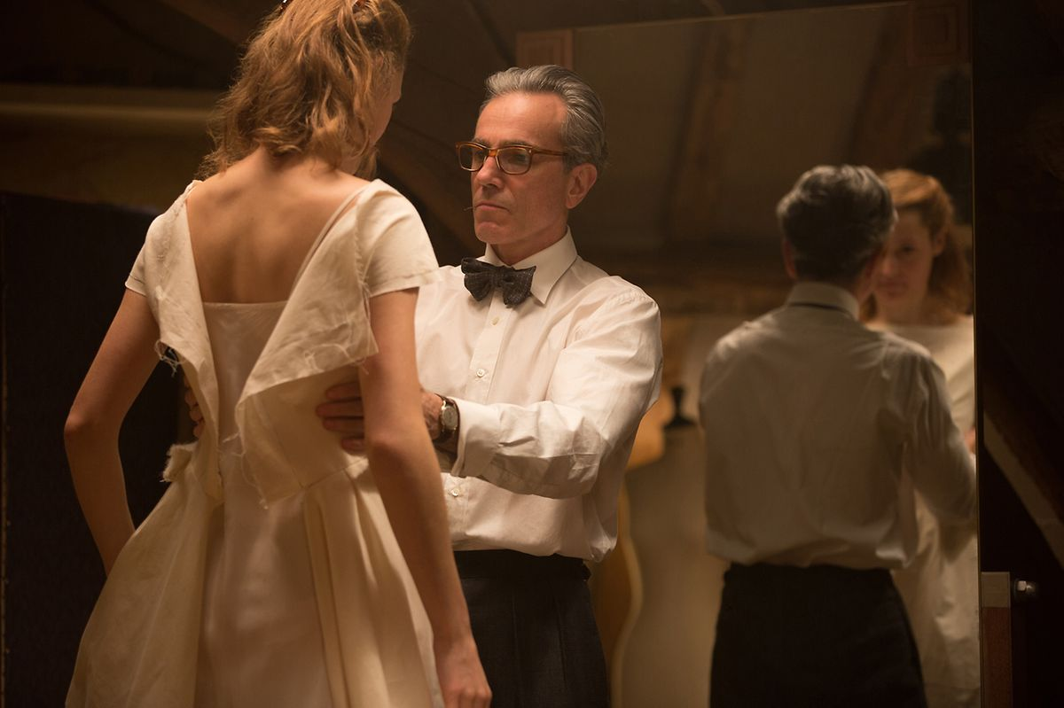 """In """"Phantom Thread"""" spielt Vicky Krieps die junge Alma, die zur Muse von Reynolds Woodcock (Daniel Day-Lewis) avanciert."""