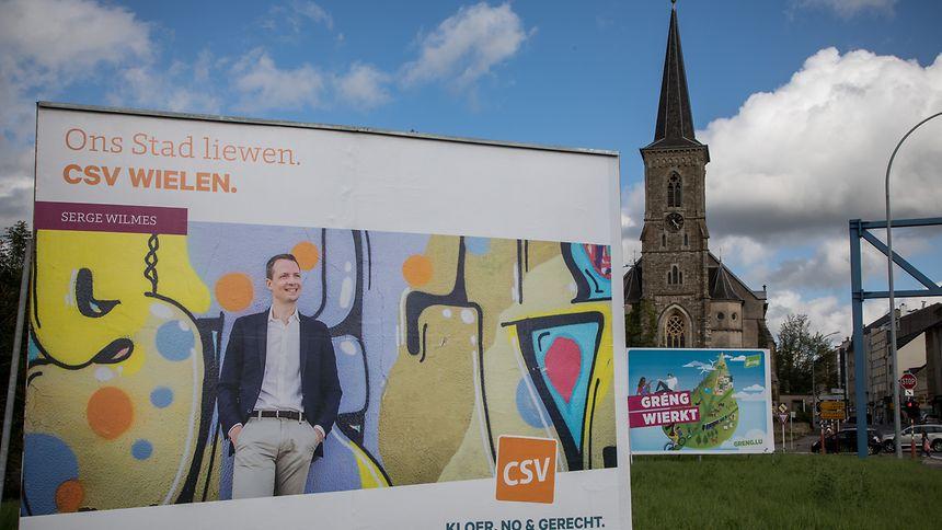 Modern, farbig und multikulturell: So sehe die CSV die Stadt Luxemburg, erklärt Serge Wilmes in einer Pressemitteilung.