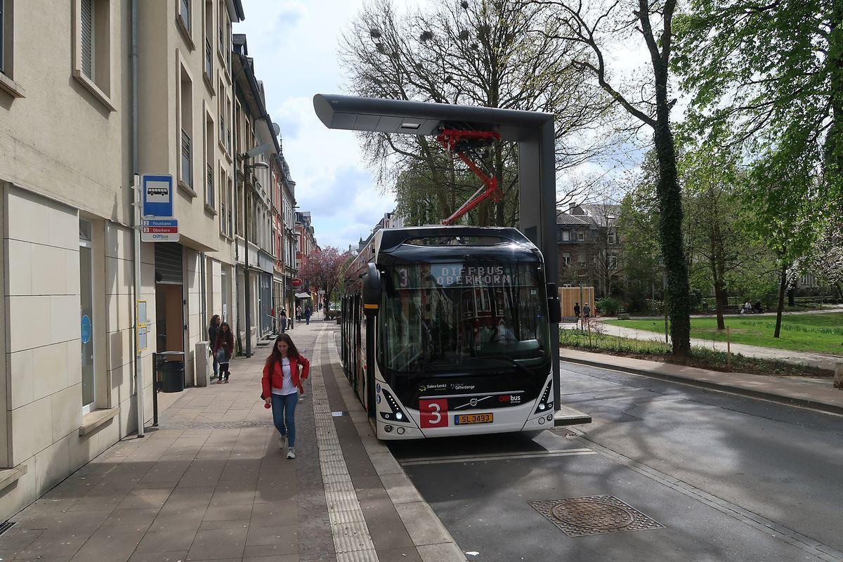 Die Diffbusse werden nicht von der Stadt Differdingen selbst, sondern von Sales-Lentz betrieben.