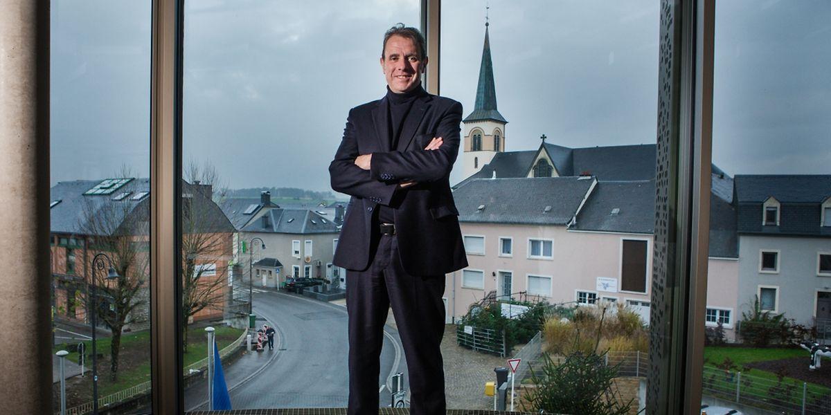Félix Eischen, neuer Bürgermeister in Kehlen - photo : Pierre Matgé