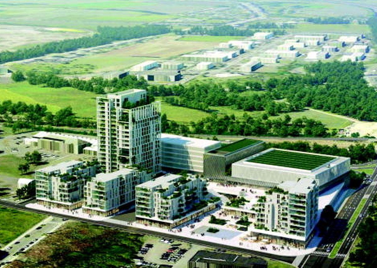 Le nouveau centre sportif sera érigé derrière l'espace résidentiel et commercial à côté du nationale du sport.