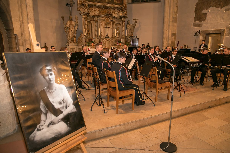 Konzert in der Méchelkierch zum 100. Thronjubiläum von Großherzogin Charlotte.