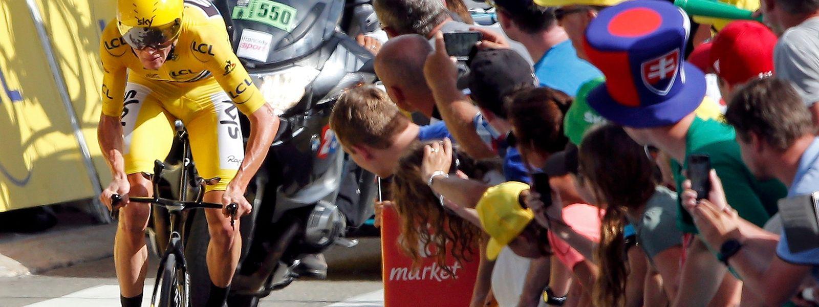 18 Etappe Der Tour De France Gesamtsieg Ist Froome Kaum Noch Zu Nehmen