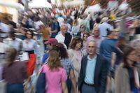 Lok , Luxemburg Stadt , Bevölkerung , Demografie , Grand Rue , Foto:Guy Jallay/Luxembuzrger Wort