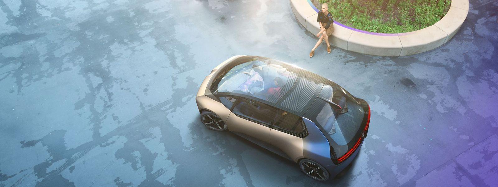 Das Auto der Zukunft? Der BMW i Vision Circular.