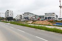Lokales,Neue Wohnungen Quartier Réimerwee, Kirchberg.Wohnungsbau.Foto: Gerry Huberty/Luxemburger Wort