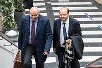 Lok , Tribunal Luxembourg , SREL Prozess , Auftakt , Frank Schneider , ehem. Chef des Operations beim SREL Foto:GUy Jallay/Luxemburg