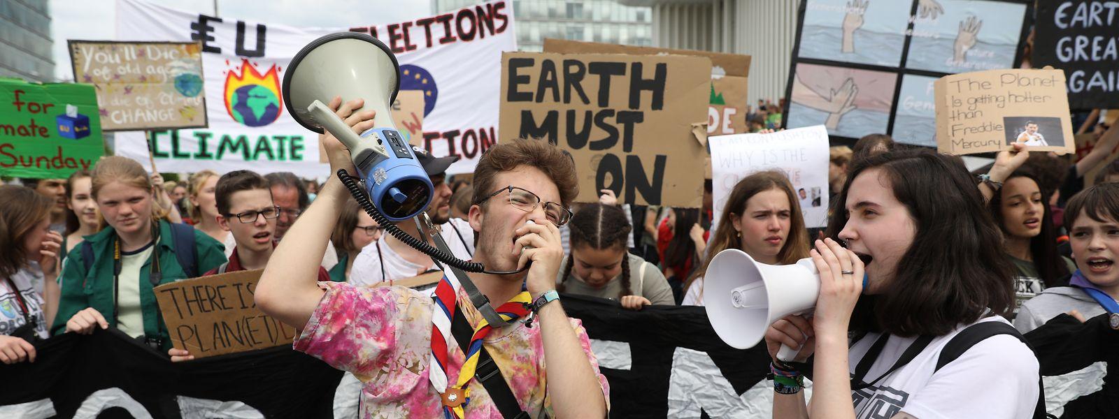 Cette semaine de rentrée scolaire marque le retour des manifestations pour le climat.