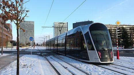 Le tram a été inauguré dimanche dernier.