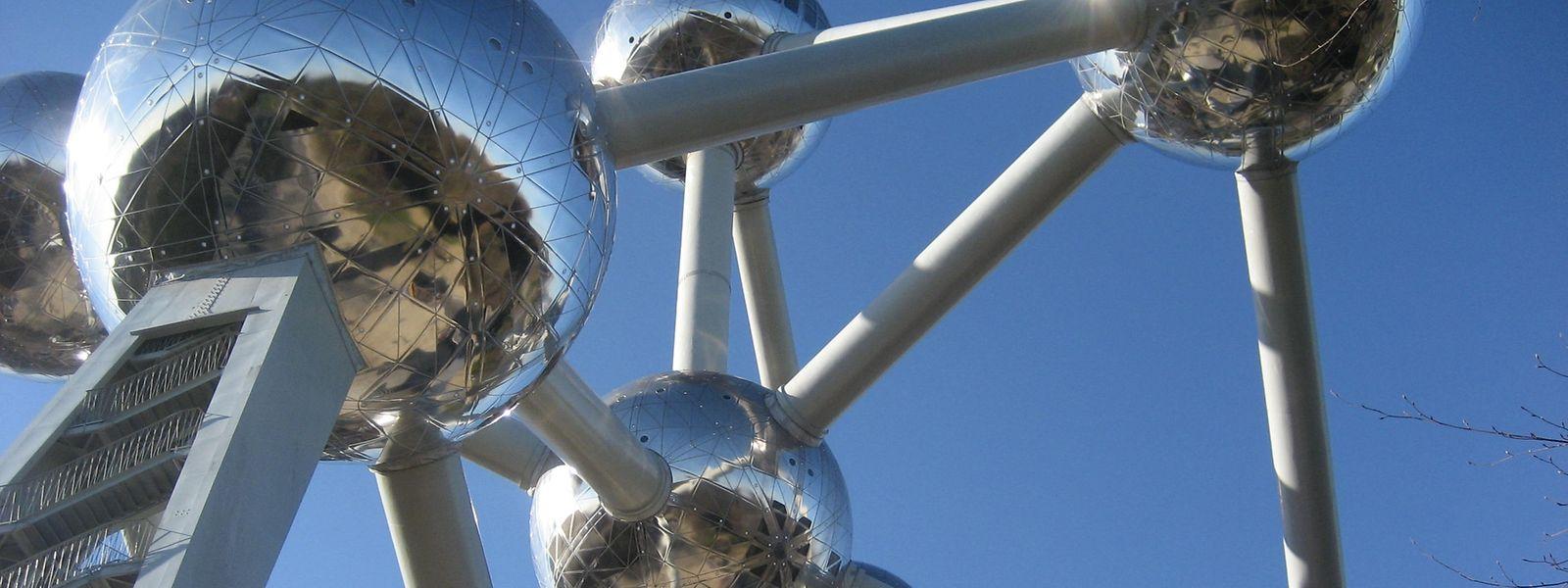 Das Atomium wurde für die Weltausstellung 1958 errichtet und feiert am 17. April sein 60-jähriges Bestehen.