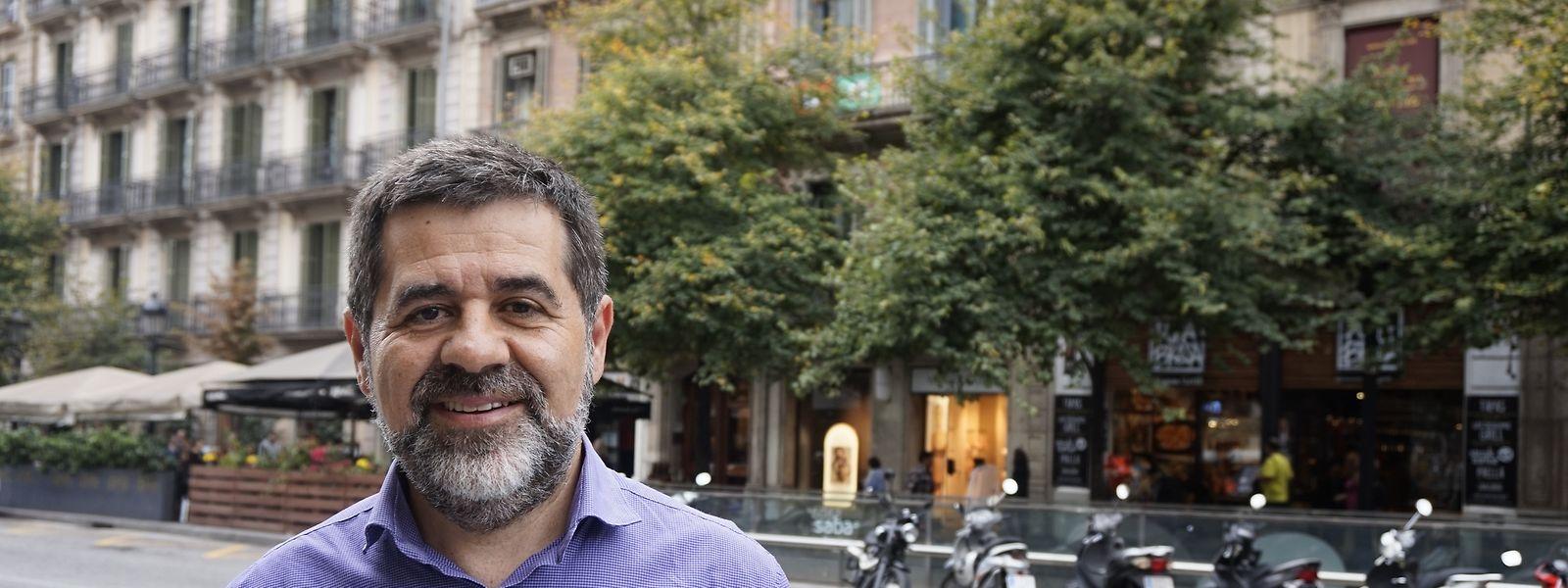 """Der frühere Chef der separatistischen Organisation  """"Katalanische Nationalversammlung"""" (ANC), Jordi Sánchez, wurde als Kandidaten für das Amt vorgeschlagen."""