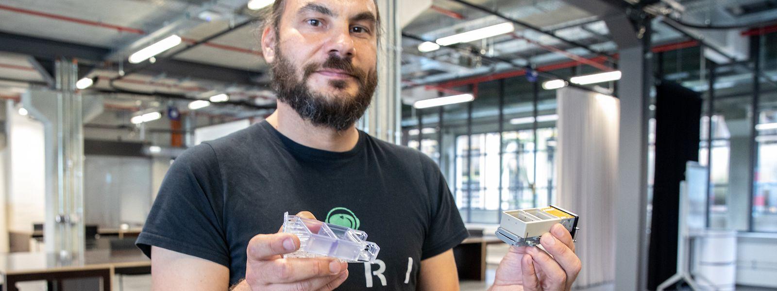 Christian Bruderrek ist einer der Gründer des Start-ups Yuri.