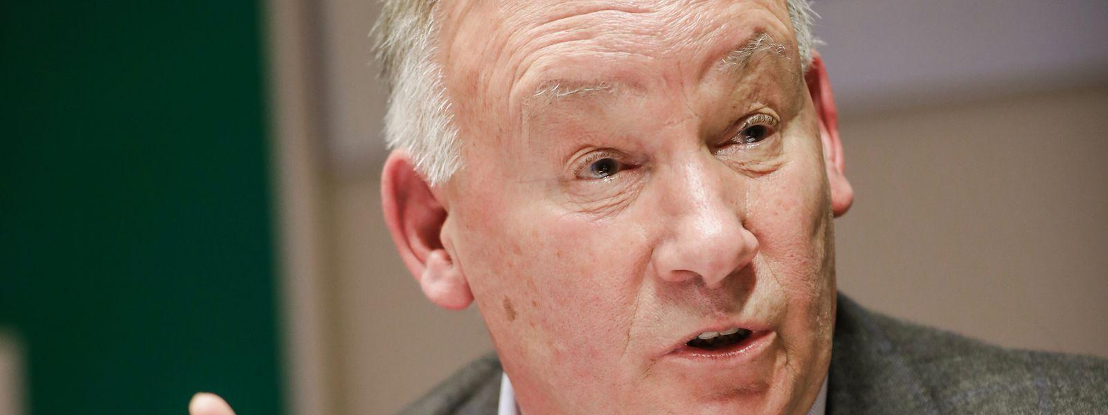 Nico Hoffmann a de nouveau critiqué la lourdeur des frais bancaires et appelle le gouvernement à préserver le paiement en cash.