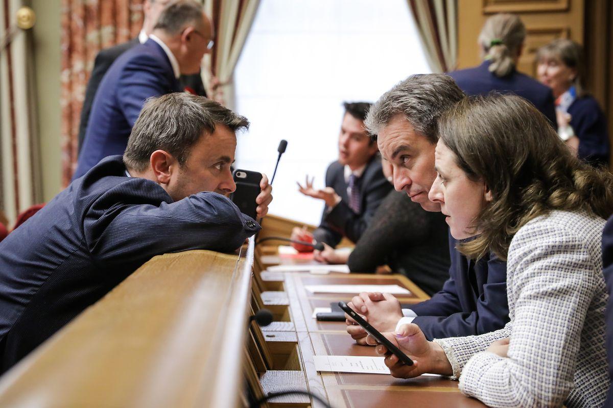 Premier Xavier Bettel wünscht sich eine konstruktive Zusammenarbeit zwischen Parlament und Regierung.