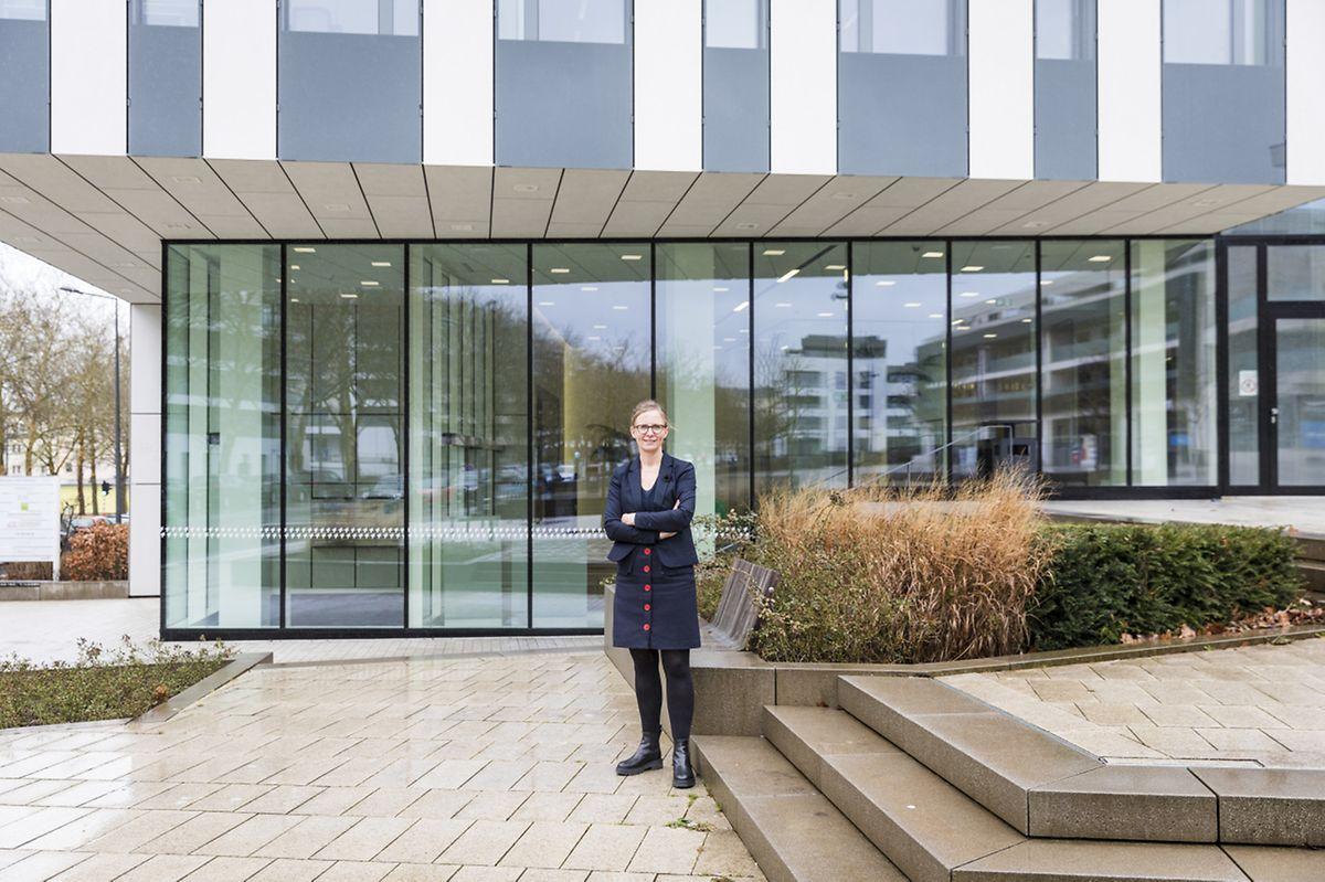 Le loyer mensuel du Fonds du logement s'élève à 120.000 eurs hors TVA. L'entreprise a emménagé en avril 2018 après plusieurs décennies passées à Gasperich.