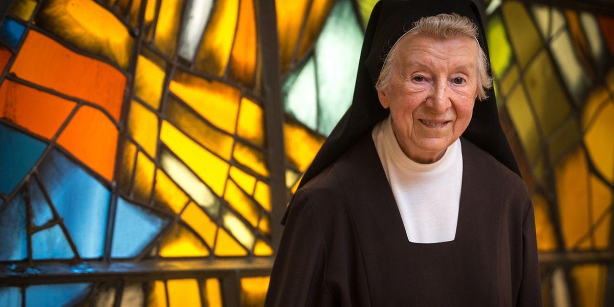 A freira carmelita Anne-Thèrese é uma das últimas sobreviventes do grupo de luxemburgueses que prometeram construir o santuário de Fátima em Wiltz, em 1945.