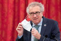 Politik, Chambre des Députés - Débat Budget, Pierre Gramegna. Foto: Chris Karaba/Luxemburger Wort