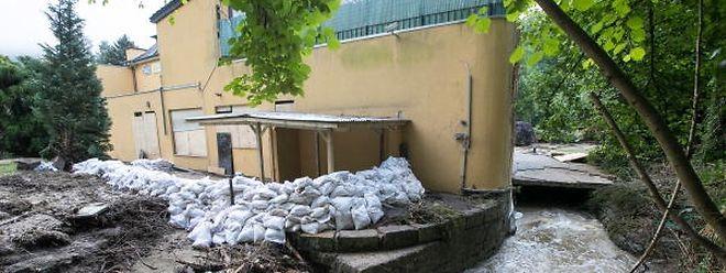 Das Hochwasser vom 9.Juni war die Folge eine Starkregenereignisses.