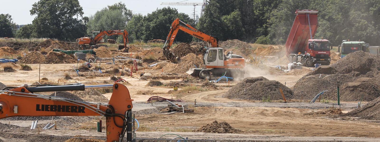 Das Projekt Elmen in der Gemeinde Kehlen: Die SNHBM baut hier in den kommenden Jahren 800 Wohneinheiten.