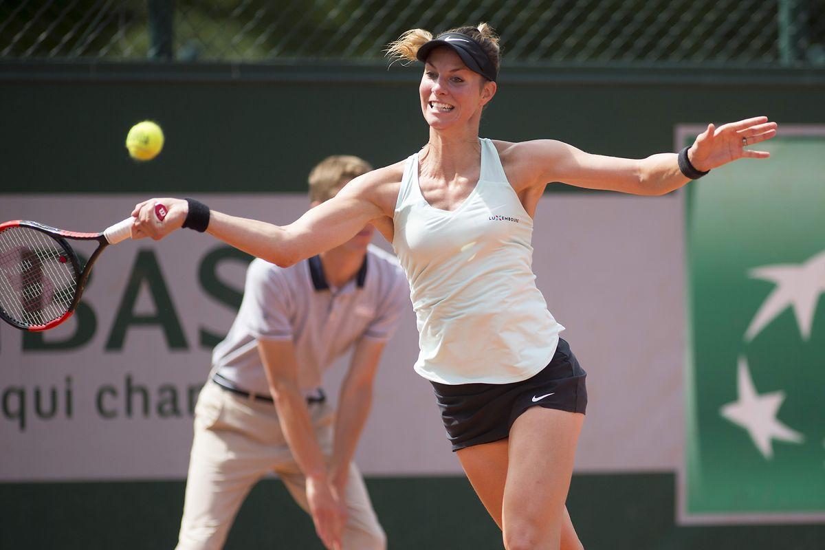 Mandy Minella ne franchira pas le cap du deuxième tour à l'Open de Croatie à Bol, cette année, en simple et en double