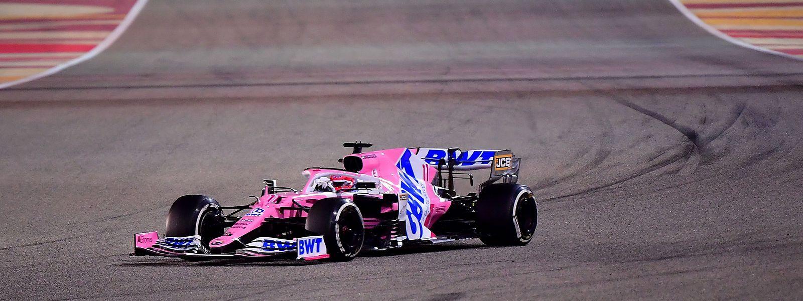 190 Rennen benötigt Sergio Perez für seinen ersten Sieg.